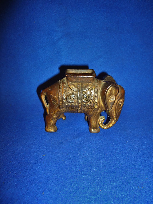 Cast Iron Bank, Elephant with Howdah #5485