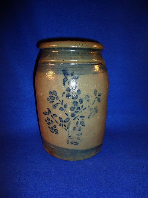 1 Gallon Jar with Sprig of Violets from Southwestern Pennsylvania