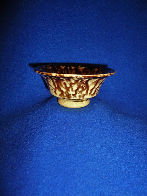Rare Yellow Ware Miniature Wash Bowl #4474