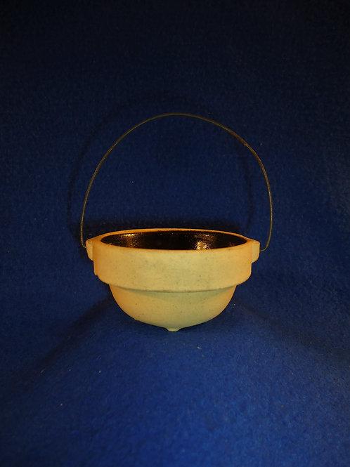 Circa 1900 Miniature Toy Stoneware Bowl