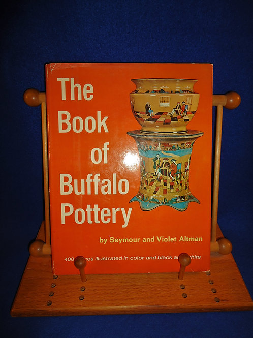 The Book of Buffalo Pottery, Seymour and Violet Altman, #4850