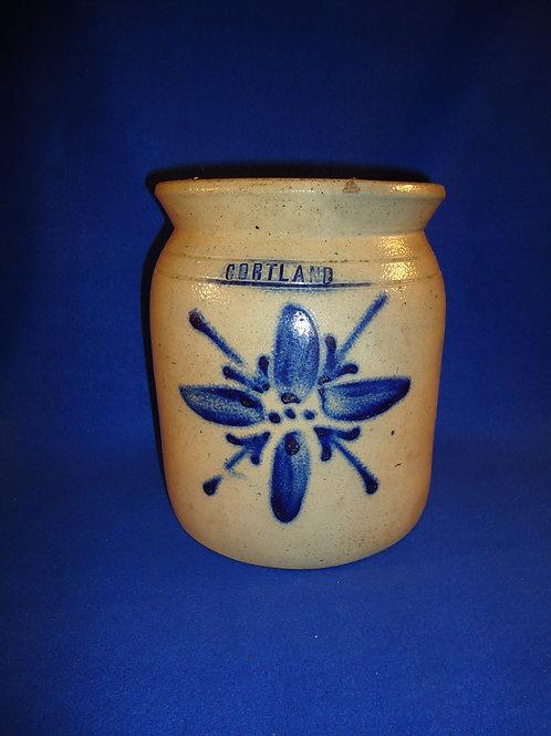 Cortland Jar with Brilliant Lily, att. Madison Woodruff, #4815