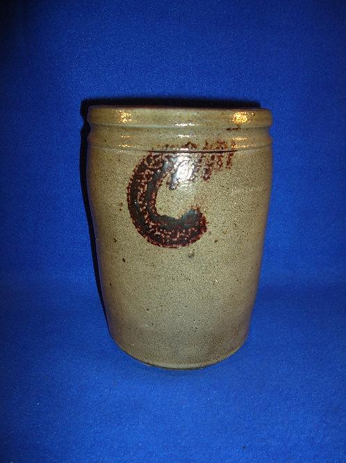 S. Bell & Son, Strasburg, Virginia Stoneware 1/2 Gallon Jar, #4999
