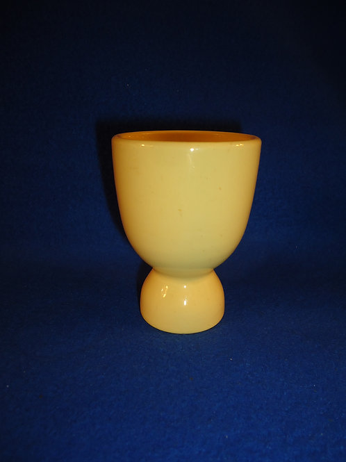 Yellow Ware Double Egg Cup