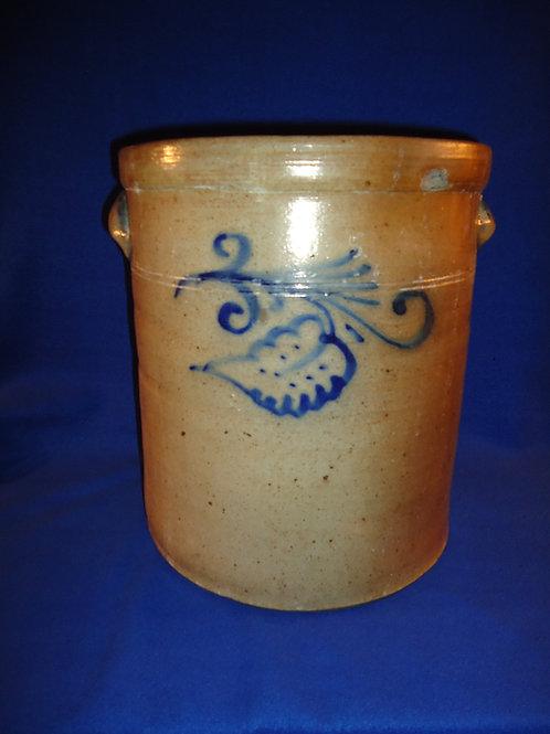 5 Gallon Stoneware Crock, att. Wingender of Haddenfield, New Jersey