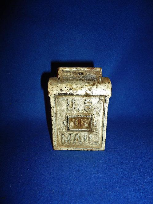 Cast Iron Still Bank, U.S. Mail, A. C. Williams, #5554