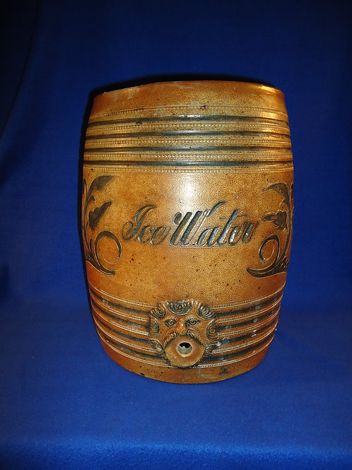Wingender, Haddenfield, New Jersey Stoneware 5 Gallon Water Cooler