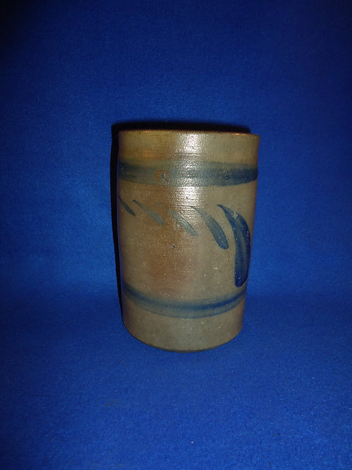 Circa 1870 Stove Pipe Decorated Wax Sealer from Southwestern Pennsylvania #5839
