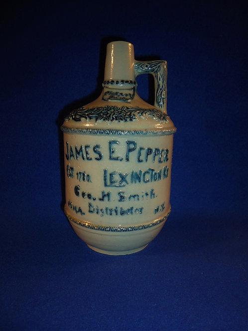 James Pepper, Lexington, Kentucky, Stoneware Whiskey Jug, by Whites Utica
