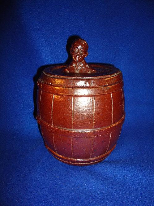 General Ceramics, New York City Sewer Tile Tobacco Humidor, Al Smith