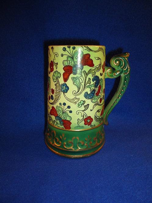 Haynes, Chesapeake Pottery, Baltimore, Maryland Tall Mug, Arabian Pattern