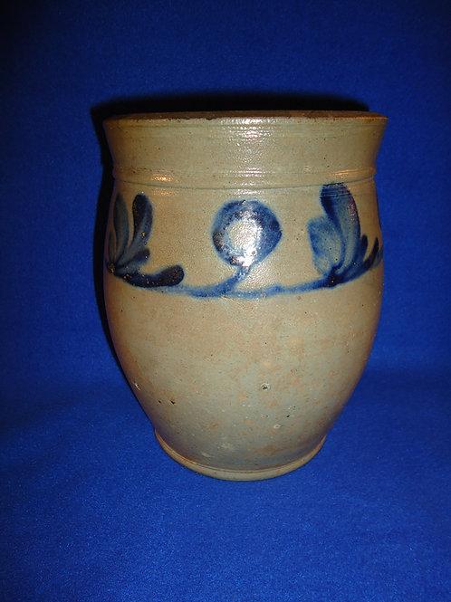 Circa 1830 Stoneware Jar from Philadelphia, att. Henry Remmey