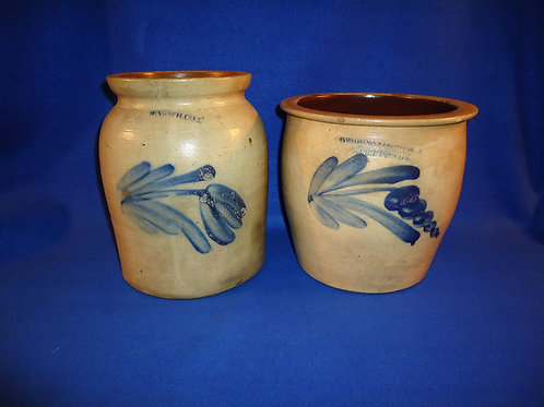 Two Cowden & Wilcox Stoneware Pieces for 1 Money #4550