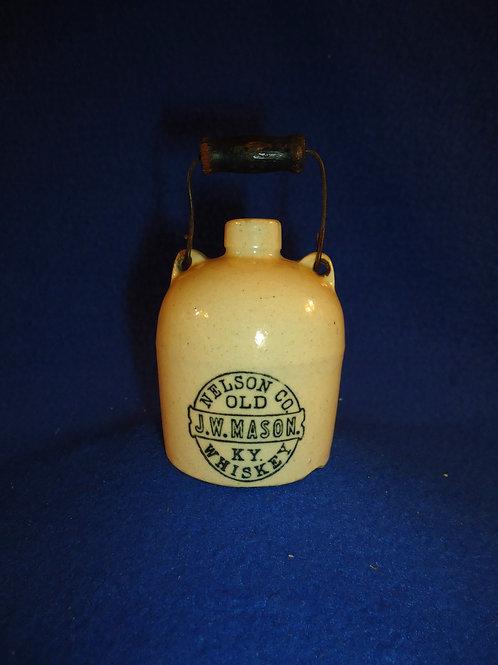 J. W. Mason,Old Kentucky Whiskey Stoneware Mini Jug
