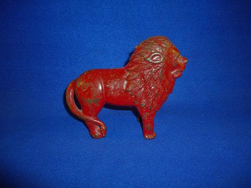 Lion Cast Iron Bank by A. C. Williams, Ravenna, Ohio #4567
