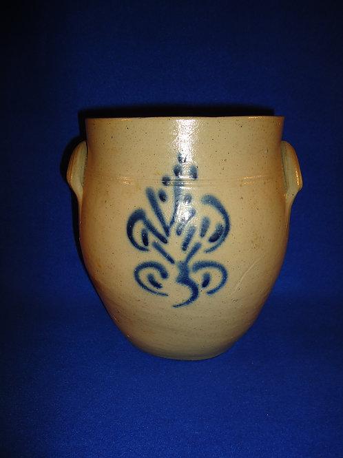 Circa 1830 1 Gallon Ovoid Jar from the Northeast