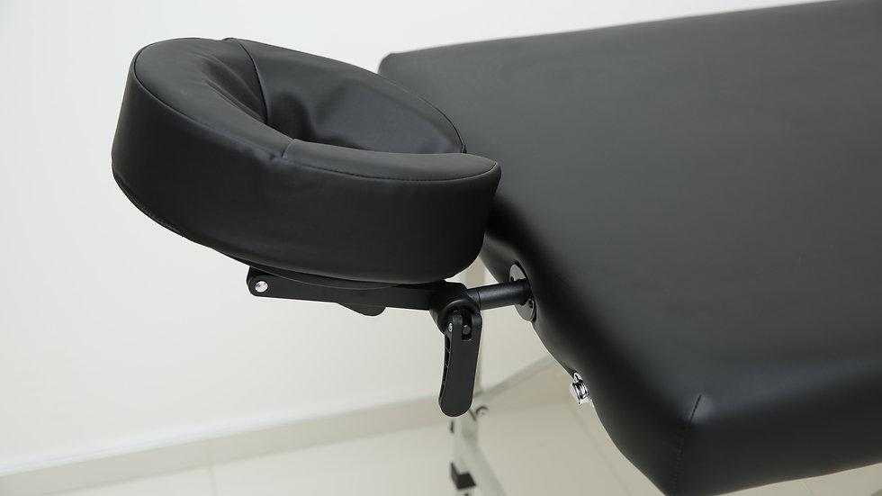Супер крепкий массажный стол Titan черного цвета