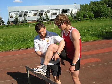 Армос - работа со спортсменами в поле