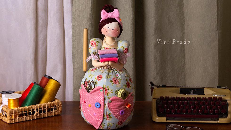 Projeto Digital Elvira Costureira - Porta objetos de costura