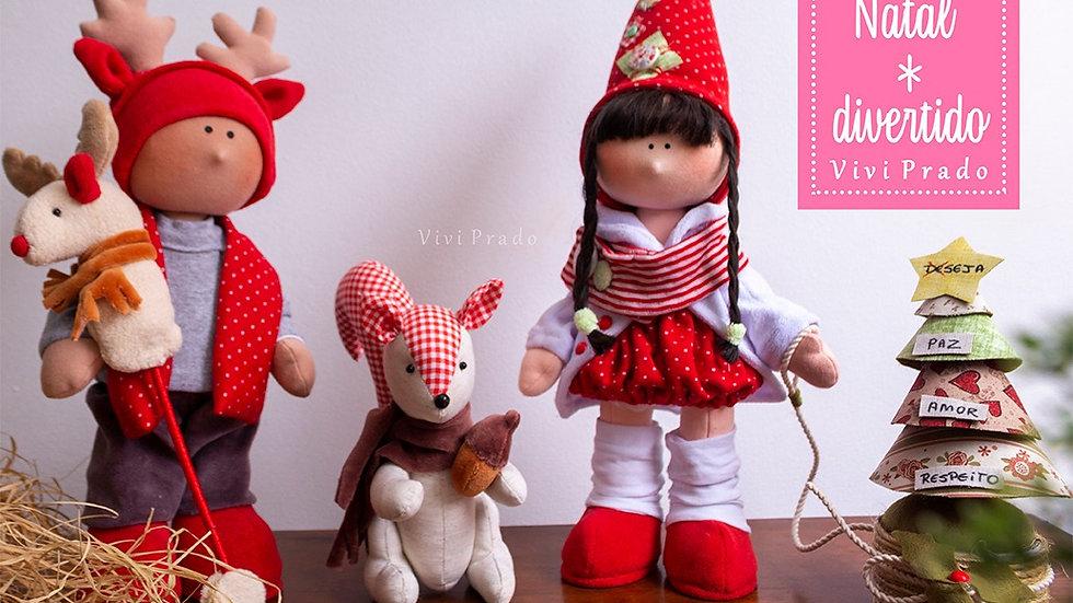 Curso On-line Completo Coleção Natal Divertido