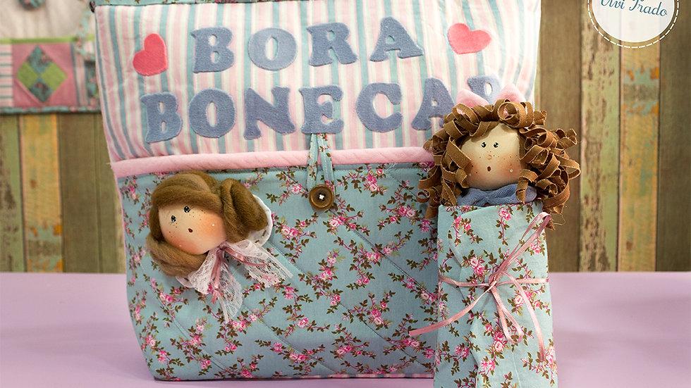 Projeto Digital Bolsa Bora Bonecar e Boneca Porta Agulhas
