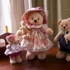 Mamãe Ursa e seus filhotes