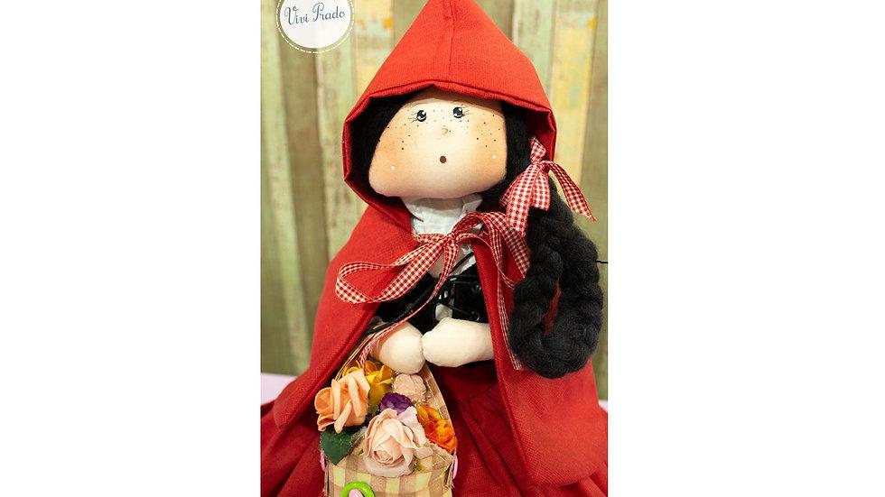 Curso on-line Boneca 3 em 1 Chapeuzinho Vermelho