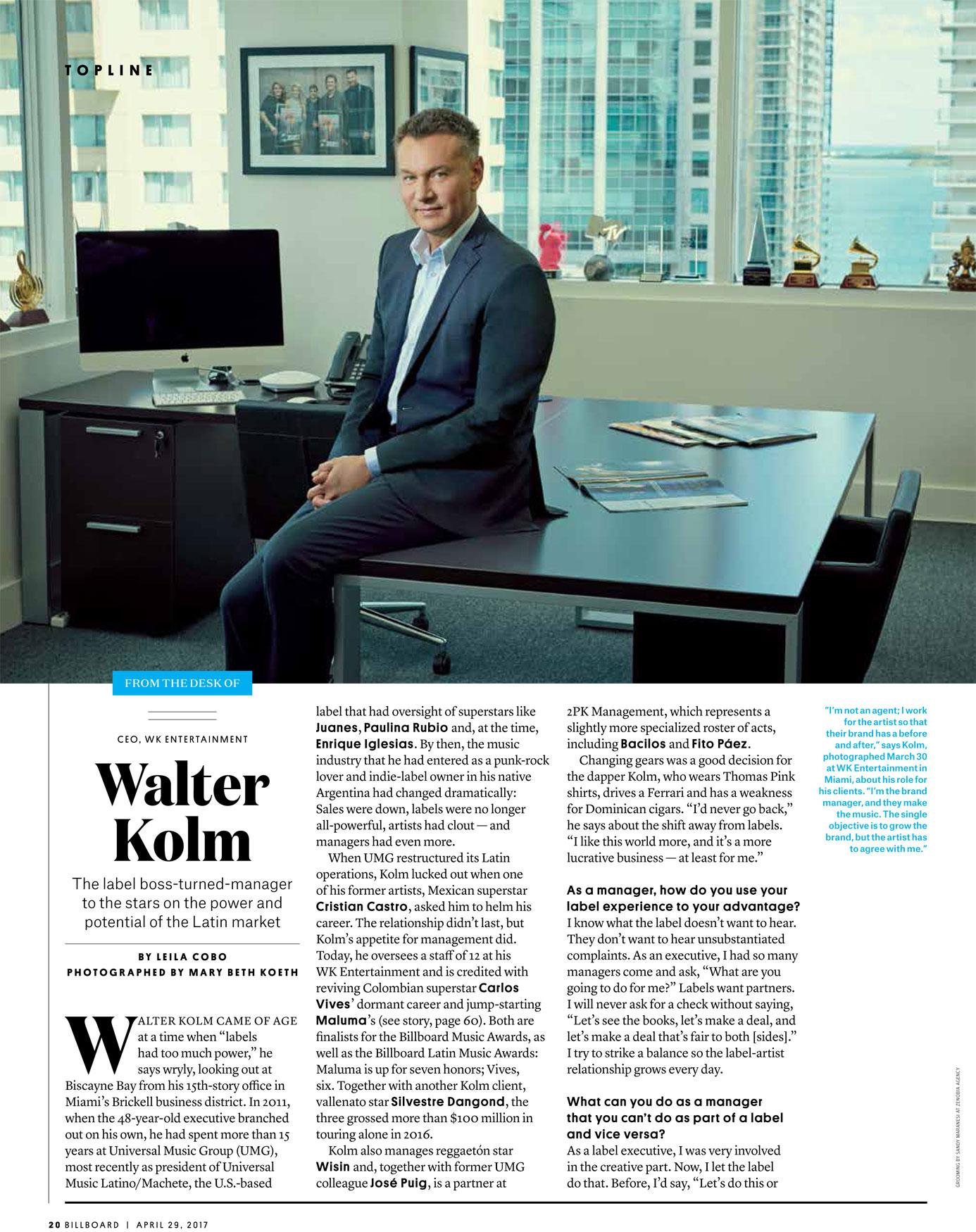 Billboard_Walter Kolm