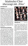 Konzertkritik Elias