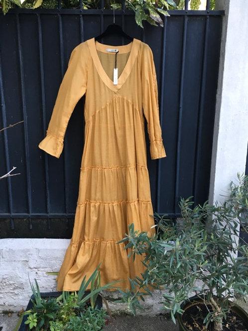 LUNA BI - Robe Longue Melograno