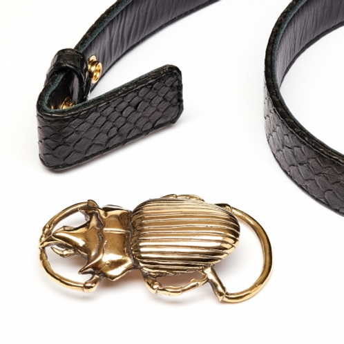 CLARIS VIROT  - Boucle Beetle Dorée