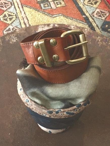 CAMPOMAGGI - Ceinture 100% Leather