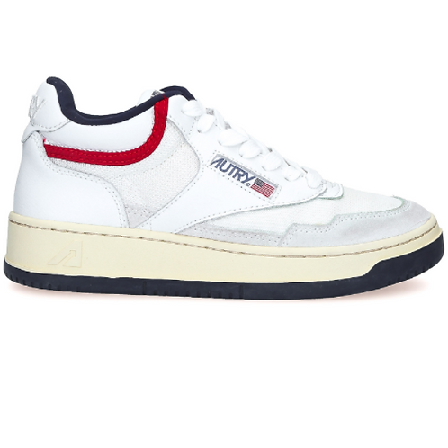 AUTRY Action Shoes - Autry Mid Wom White/USA