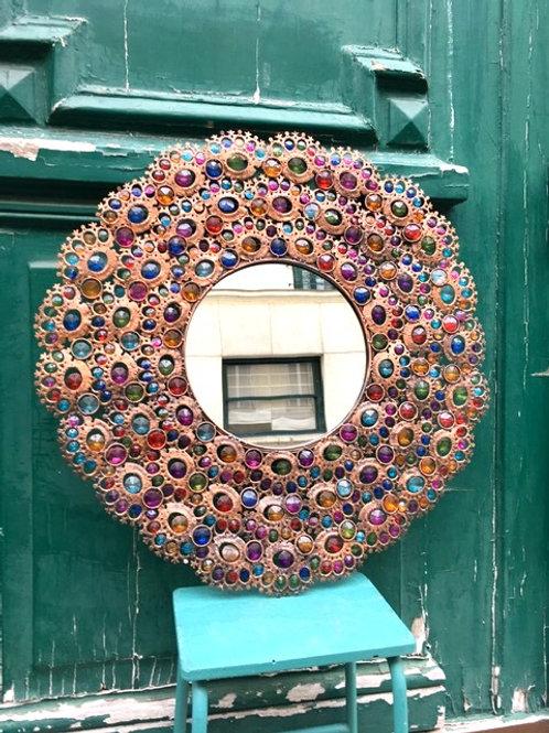 BONNIE & CLYDE DECO - Miroir Perles