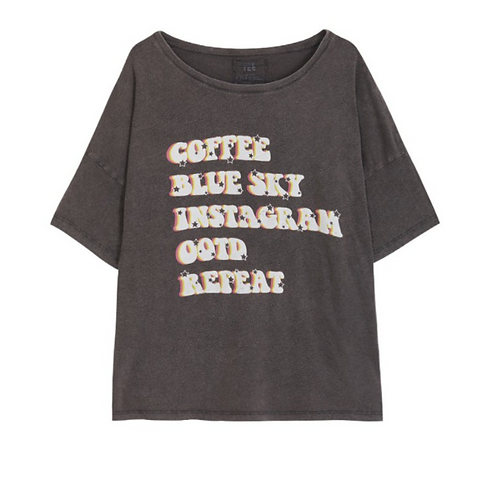ONE TEE X VERONIKA LOUBRY - T-shirt Veronika Carbone