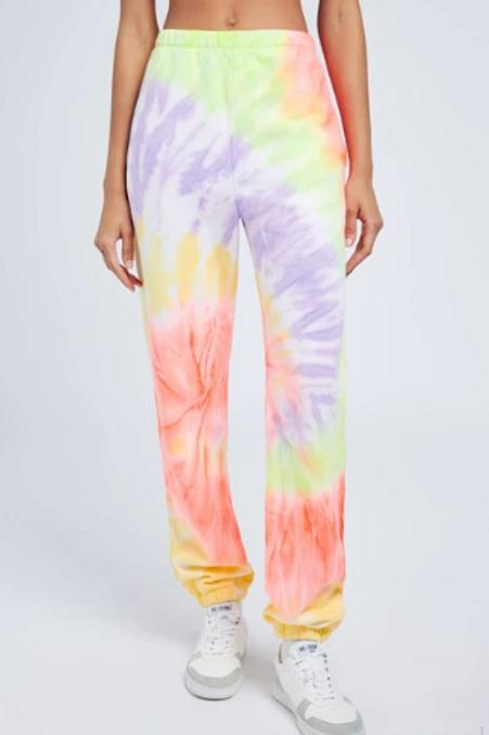 RE / DONE HANES - Sweat Pant Spyral Dye