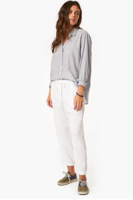 XIRENA - Pantalon Jak Blanc
