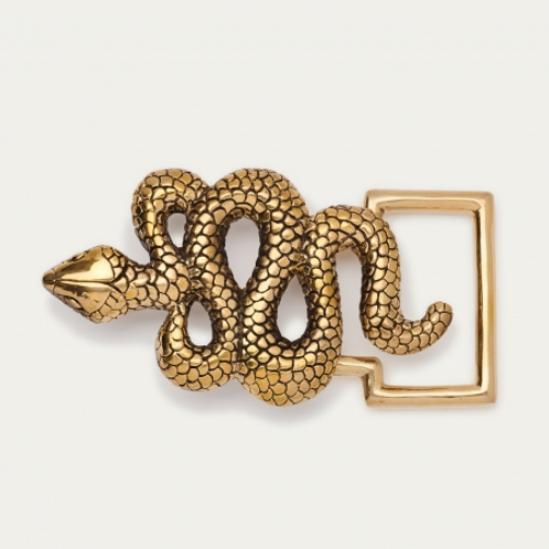 CLARIS VIROT - Boucle Serpent Dorée