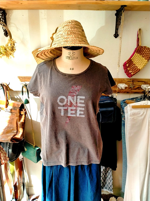 ONE TEE - T-shirt Ava Carbone