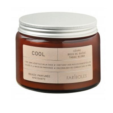 FARIBOLES BOUGIES - Cool 400gr 100%Végétale