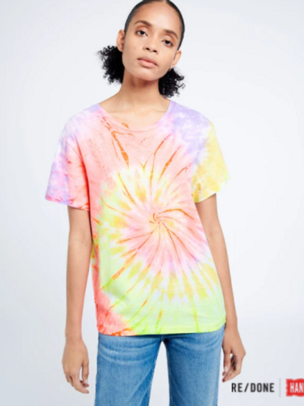 RE / DONE HANES - T-Shirt 70S Loose