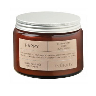 FARIBOLES BOUGIES - Happy 400gr 100%Végétale