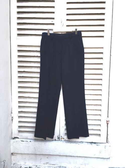 RABENS SALONER - Pantalon Joscelyn Navy