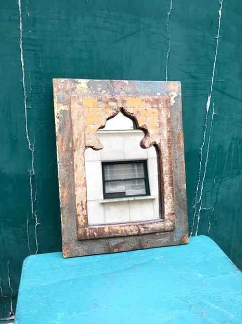 BONNIE & CLYDE DECO - Miroir Indien En Bois