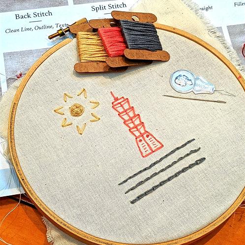 """DIY Taipei """"101"""" Embroidery Kit"""