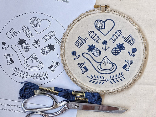 Iconic Taiwan - DIY Embroidery Kit