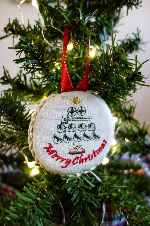 Dim Sum Christmas Tree