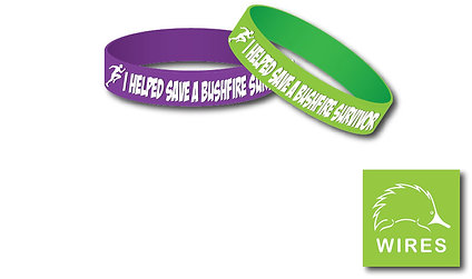 The Running People Giving Wristbands