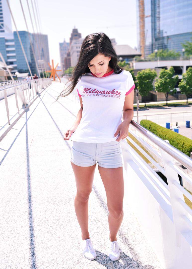 T-shirt Fashion Shoot for Milwaukee Oats, 2016