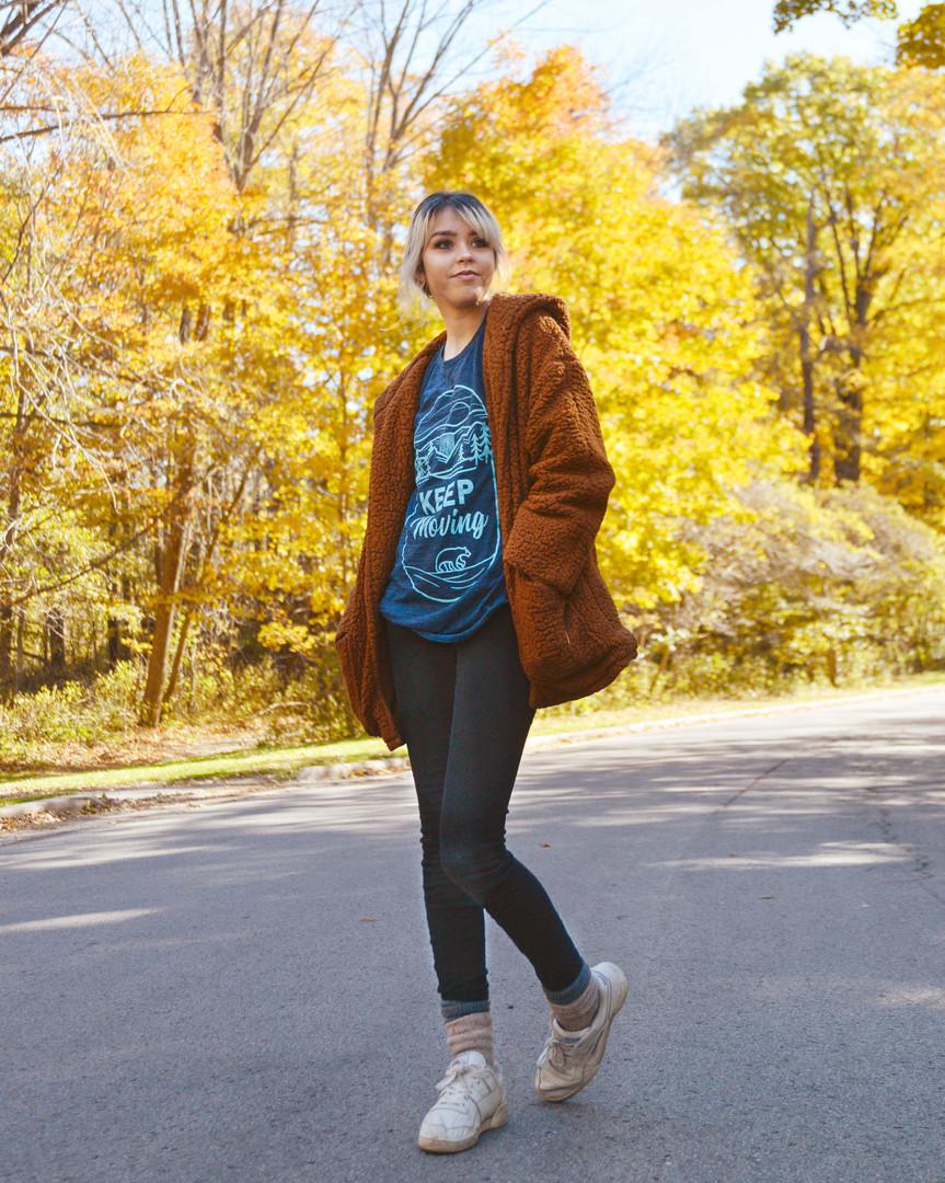 T-shirt Fashion shoot for Wander & Company, 2018
